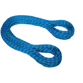 Mammut 7.5 Twilight Dry Rope 70m, neon blue